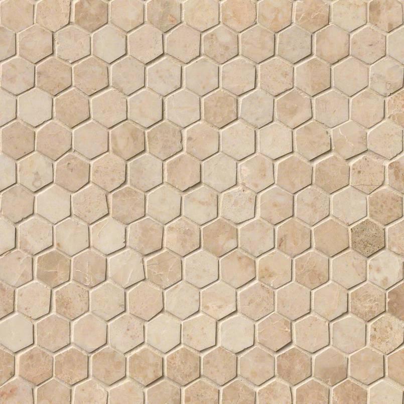 Cappuccino Hexagon